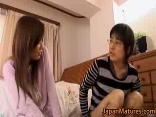 Japonská zralý žena has rozkošný
