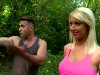 Showing Her Big-Melons In The Forest - Ddf Productions