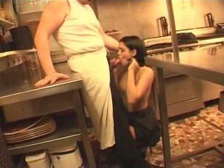 fransız, hizmetçi, mutfak