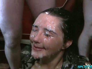 Pixiee 小 第一 永遠 顏射 黨 facials: 高清晰度 色情 72