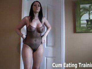 You are a hot little cum eating fuck boy CEI