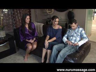 blowjob, velike joške, erotična masaža