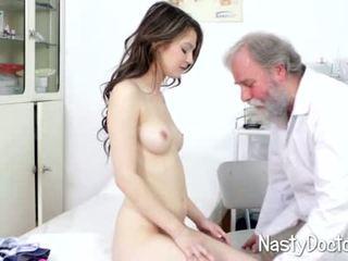 petite, läkare, fetisch
