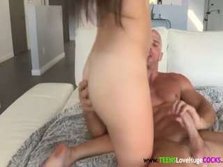 Young Kiera Winters Rides Huge Dick