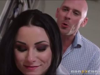 Hot and sexy maid throatfucked a bigcock