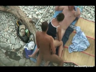 Thesandfly najbolj vroča javno plaža ukrepanje!