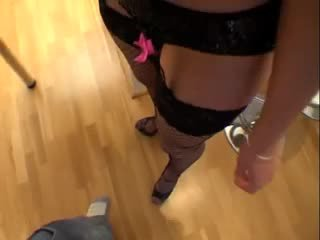 British slut emma bokongé gets fucked up the arse pov style