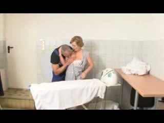 Horny German Grandma Pounded Video