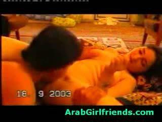 výstrek, priateľka, arab