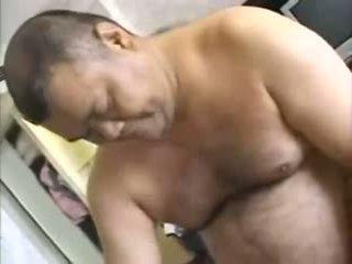 Äldre japanska 3sum manliga manliga kvinna