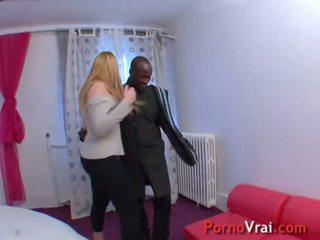 Grosse sodomie pour cette grosse salope ! French amateur