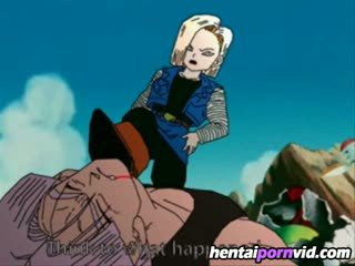 Dragon ball z hentai_ android 18 και trunks