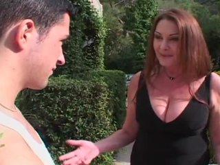 brunetka, big dick, duże cycki