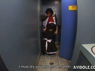 ιαπωνικά, τουαλέτα, ασιάτης