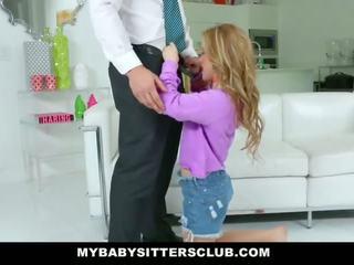 Mybabysittersclub - armas noor lapsehoidja fucks issi jaoks kättemaks