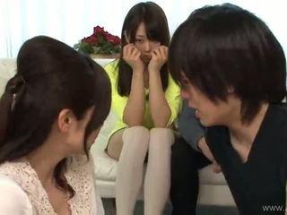 japonski, group sex, blowjob