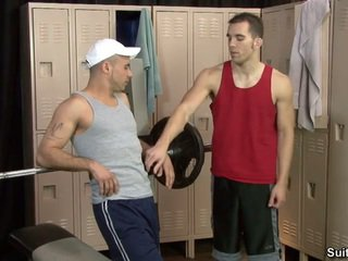 Al Carter And Dylan Hauser Fucking After Workout