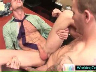 Ernst gay arsch pounding im die büro