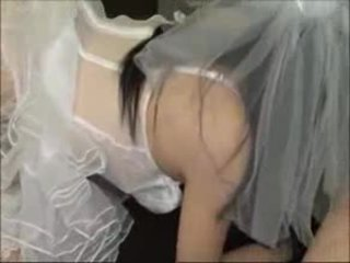 The ब्राइड gets semen - 724adult com