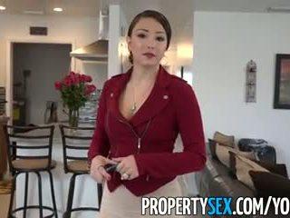 Propertysex - malaki puwit latina real estate agent lansihin into baguhan pagtatalik video