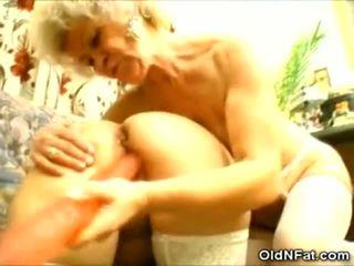 ग्रॉनी और उसकी बड़ा dicks