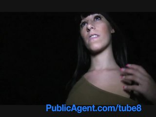 PublicAgent Spanish Teen with great tits and ass fucking outdoors