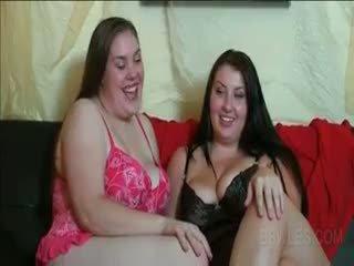 BBW Teens Having Their First Lesbian Experience