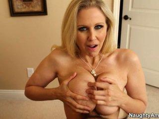 Sleaze Blonde Giant Rack Milf Julia An...