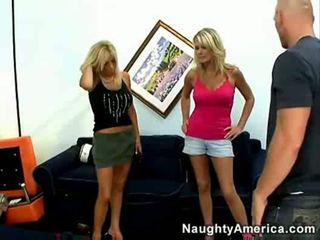 Hot mature threesome bridgett lee & mi...