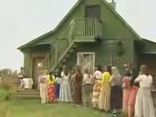 Zralý ženy zkurvenej v the země