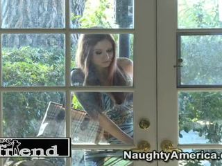 Great Pleasure For Paris Kennedy Around Her Undressed Guy