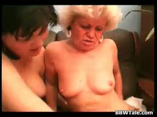 Old Horny Granny Enjoy In Wet Pussy Part3