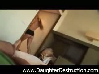 Daughter takes inches of daddy pain