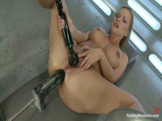 Katja Kassin A Brown Eye Assassin Having Sex Boners Bigger Than Her Forearm Onto Machine Bigger Than Her. She Has Monster Love Stick In Her Ass!