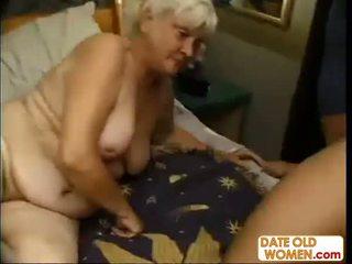 бабуся, масаж, зрілий