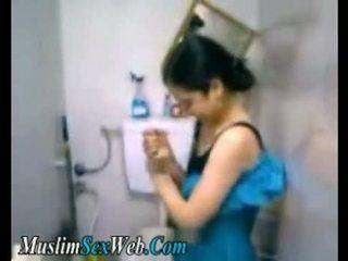Egyptiska gf fingered i toalett