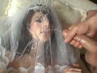 Fierbinte mireasa jackie ashe takes o cel mai mare și murdar facial cumsplash