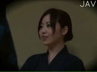 japonski, voyeur, masaža