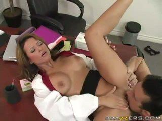 porno, brunette, neuken