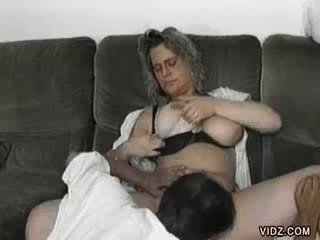 Megaboobed mature prostitute and a luscious Cock