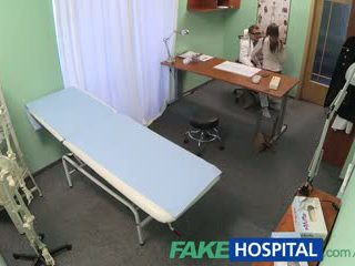 FakeHospital Patient returns for a second portion of doctors cock