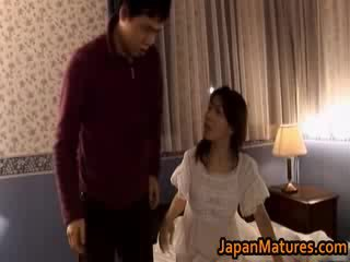 Madura japonesa modelo gets fingered