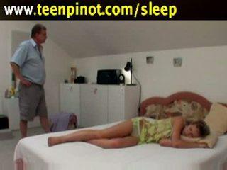мінет, дітки, sleep