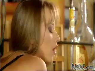 blowjob, cumshot, cô gái tóc vàng