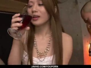 Kazumi nanase feels いくつかの men クソ 彼女の cherry