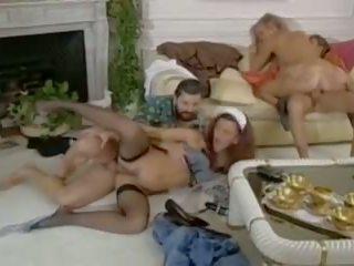 threesomes, vintage, hd porn