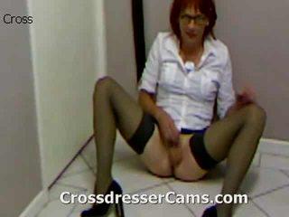 crossdresser, cul, crossdressing