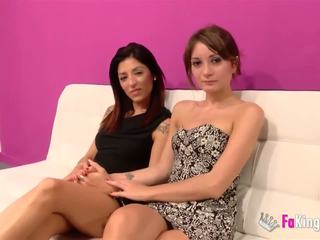 Jordi and Alex fuck two hot babes