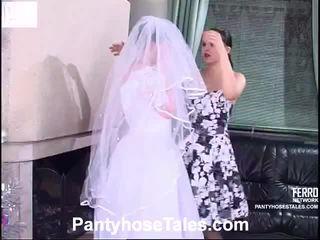 līgava, video, lesbiešu seksu