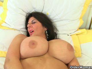 Uk milfs lulu lush og silky thighs trenge orgasmic.